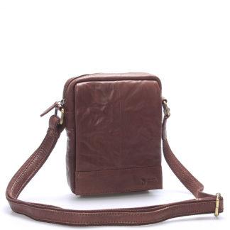 Stylová kožená taška hnědá - Sendi Design Perthos hnědá