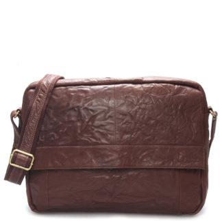 Velká luxusní pánská kožená taška hnědá - Sendi Design Nethard hnědá