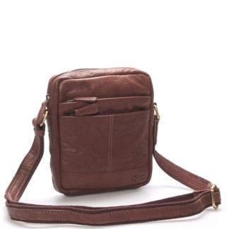 Módní kožená taška hnědá - Sendi Design Flinderse hnědá