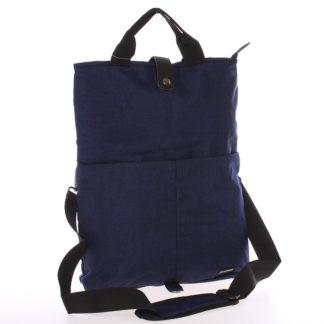 Unikátní modrá nylonová taška - Enrico Benetti Abydos modrá
