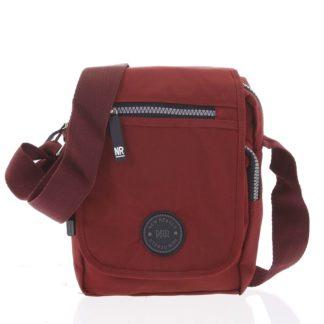 Malá sportovní taška na doklady červená - New Rebels Jacob červená