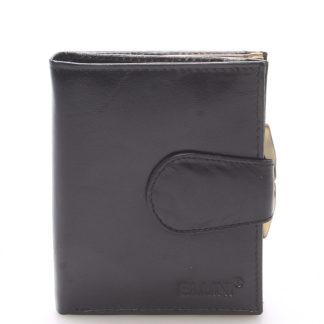 Dámská stylová kožená peněženka černá - Ellini Dahlia černá