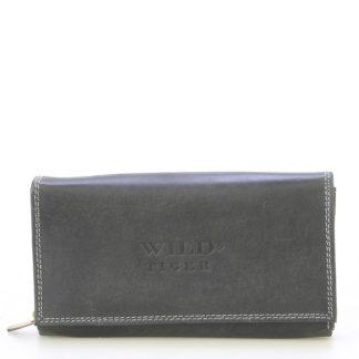 Dámská kožená peněženka černá - WILD Haemon New černá