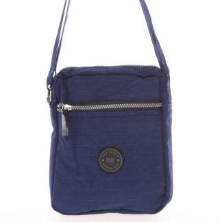Menší sportovní taška na doklady modrá - New Rebels Callum modrá