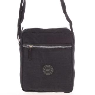 Menší sportovní taška na doklady černá - New Rebels Callum černá