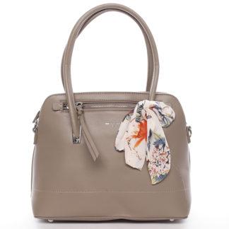 Elegantní trendy khaki kabelka do ruky - David Jones Felicity Khaki