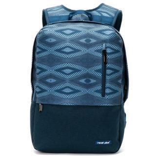 Módní cestovní modrý batoh - Travel plus 0117 modrá