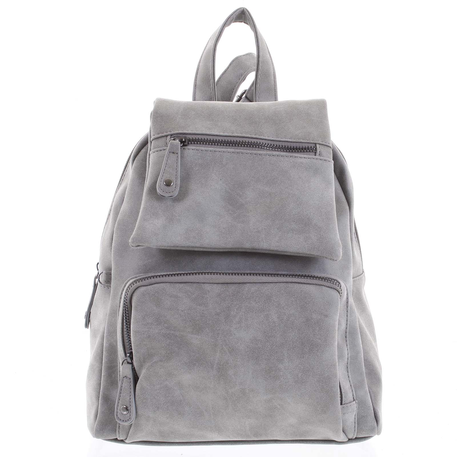 Trendy městský batůžek světle šedý - Just Dreamz Kaydence šedá