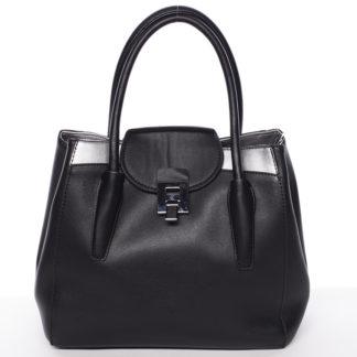 Moderní menší dámská kabelka černá - Tommasini Sloane černá