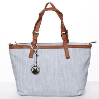 Módní dámská kabelka přes rameno modrá - MARIA C Itzel modrá