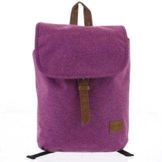 Elegantní látkový fialový batoh - New Rebels Morpheus fialová