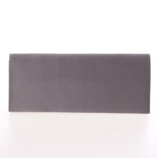 Decentní saténové psaníčko tmavě šedé - Delami P355 šedá
