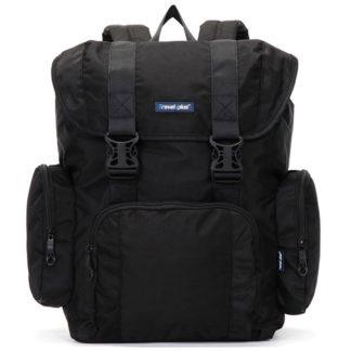 Velký černý cestovní batoh - Travel plus 7503 černá