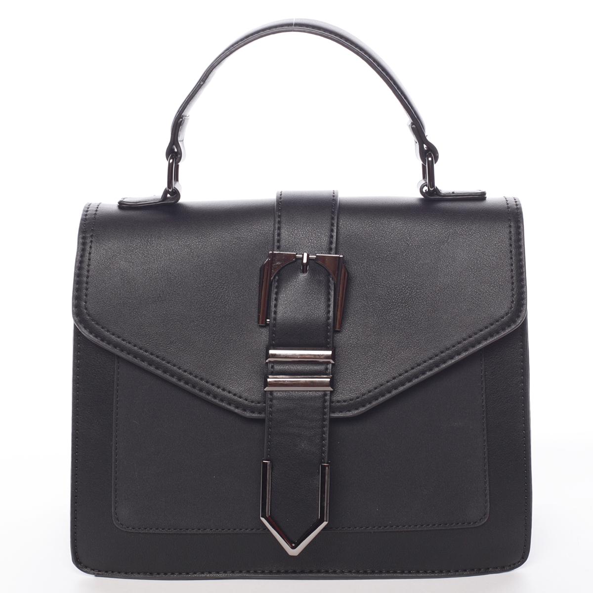 Nadčasová dámská kabelka do ruky černá - MARIA C Justice černá