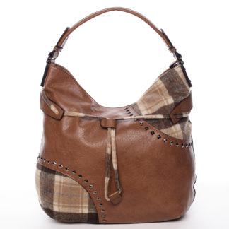 Originální dámská kabelka hnědá - MARIA C Skyler hnědá