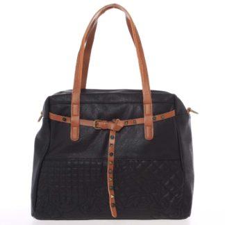 Jedinečná dámská kabelka černá - MARIA C Jocelynn černá