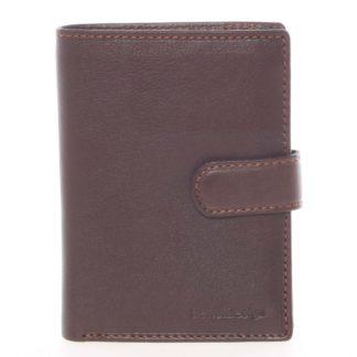 Hnědá pánská kožená peněženka - SendiDesign Sampson hnědá