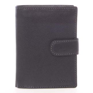 Černá pánská kožená peněženka - SendiDesign Sampson černá