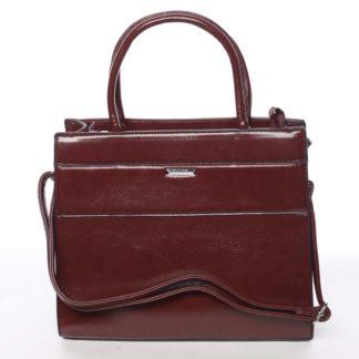 Dámská tmavě červená atraktivní kabelka - Silvia Rosa Selena červená