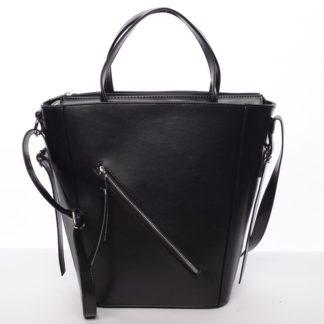Moderní dámská kabelka do ruky černá - Delami Maryam černá