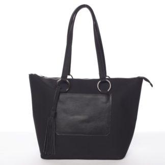 Originální vzorovaná kabelka černá - Delami Sawyer černá