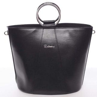 Nadčasová dámská kabelka s organizérem černá - Delami Karsyn vínová