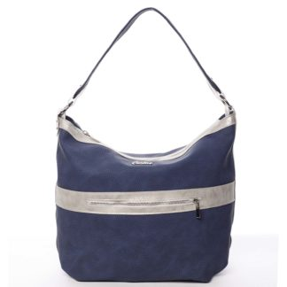 Trendy dámská kabelka tmavě modrá - Carine Taryn modrá