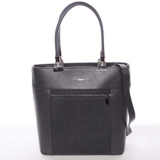 Elegantní dámská kabelka šedá - Delami Kassandra šedá