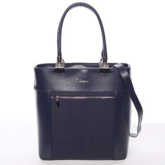 Elegantní dámská kabelka modrá - Delami Kassandra modrá