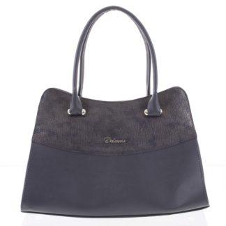 Módní dámská kabelka do ruky šedá - Delami Elliana šedá