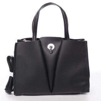 Luxusní dámská černá kabelka do ruky - David Jones Aedon černá