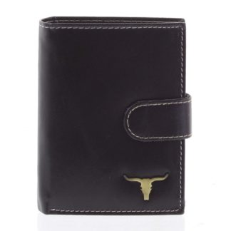 Pánská kožená peněženka černá - BUFFALO Elliott černá