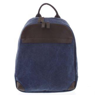 Stylový pánský batoh modrý - Gerard Henon Roch modrá