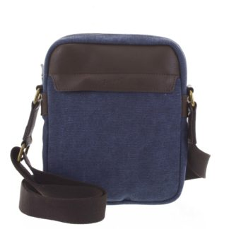 Stylová pánská taška na doklady modrá - Gerard Henon Vidal modrá