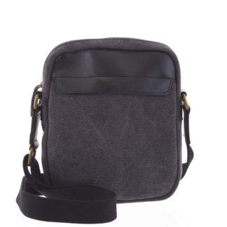 Stylová pánská taška na doklady černá - Gerard Henon Vidal černá