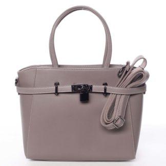 Luxusní stylová menší tmavá starorůžová kabelka do ruky - David Jones Haless růžová