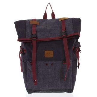 Kombinovaný cestovní batoh černo šedý - New Rebels Messer černá