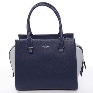 Luxusní módní modrá kabelka přes rameno - David Jones Ariana modrá