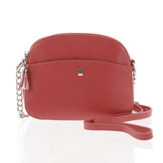 Dámská tmavě růžová crossbody mini kabelka - David Jones Shirley růžová