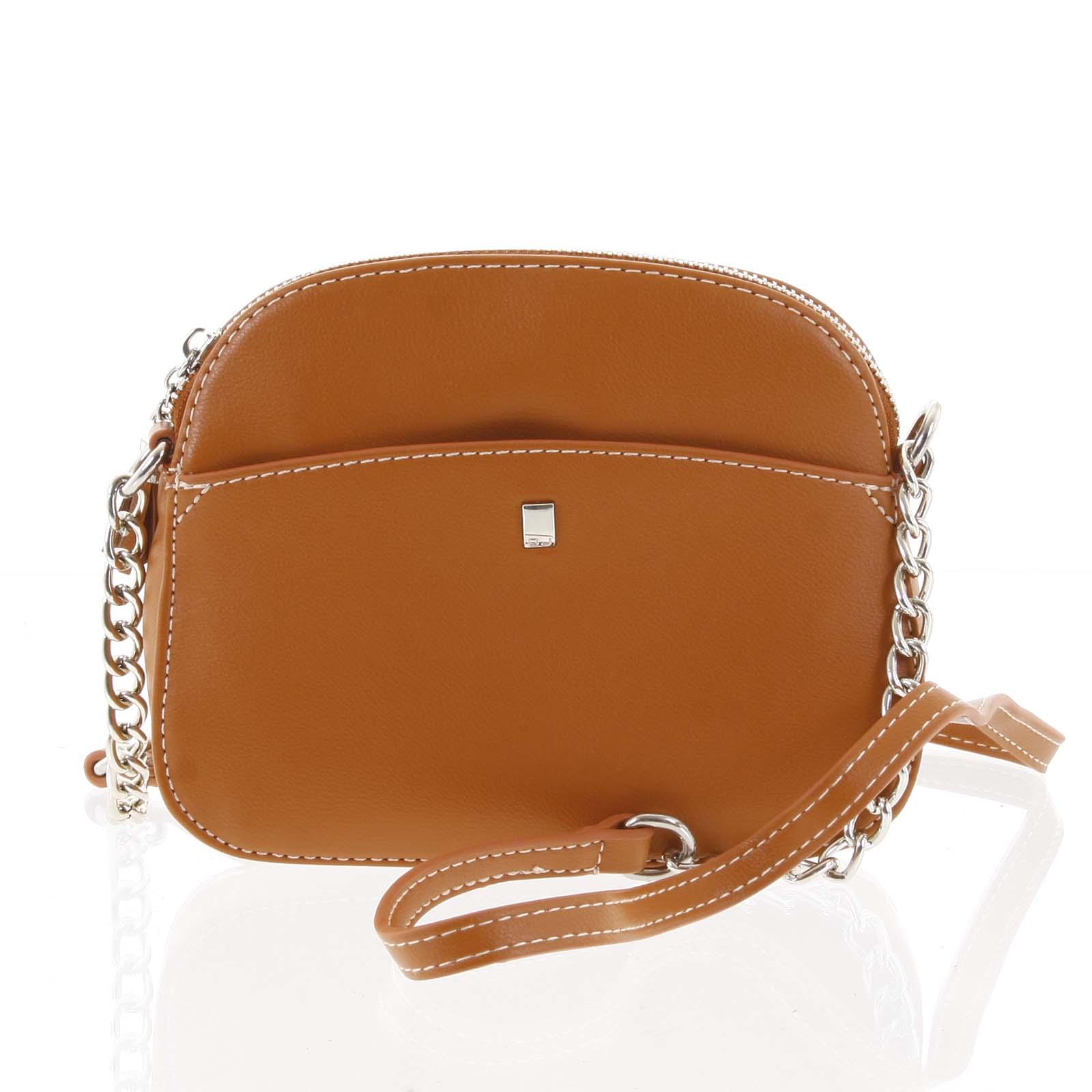 Dámská oranžová crossbody mini kabelka - David Jones Shirley oranžová