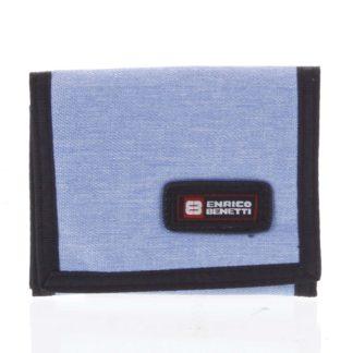 Peněženka látková světle modrá - Enrico Benetti 4600 modrá