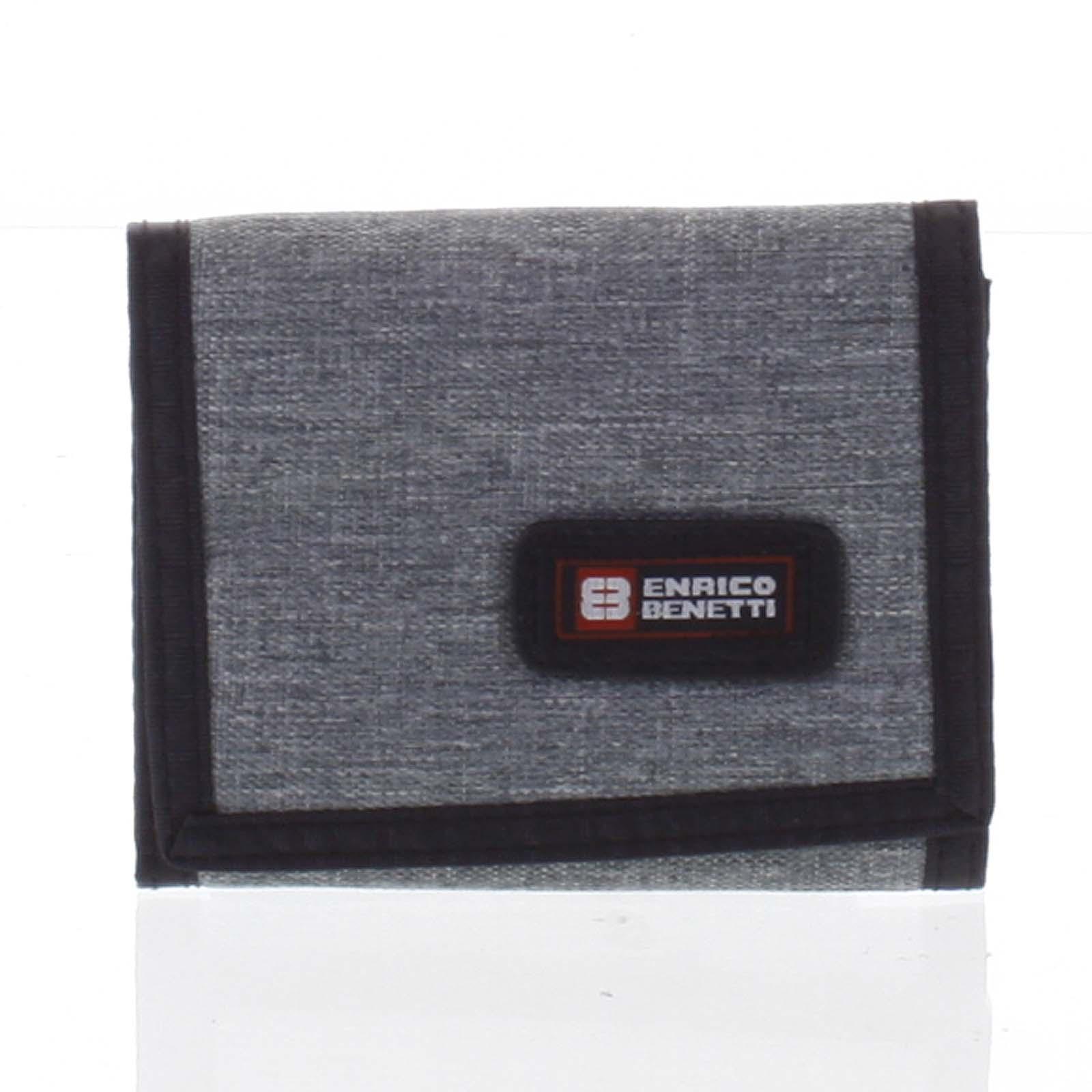 Peněženka látková světle šedá - Enrico Benetti 4600 šedá