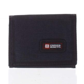 Peněženka látková černá - Enrico Benetti 4600 černá