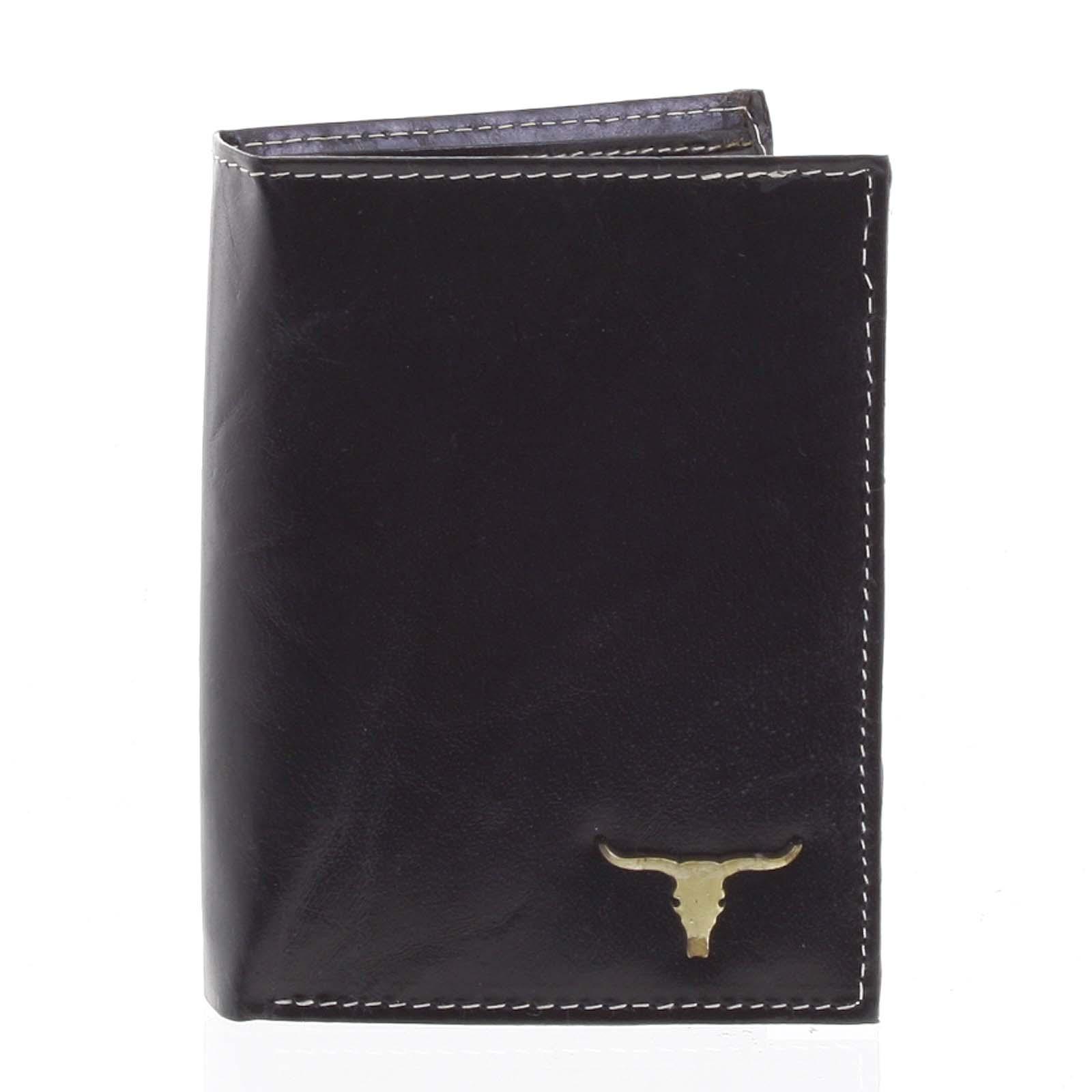 Pánská kožená peněženka černá - BUFFALO Dura černá