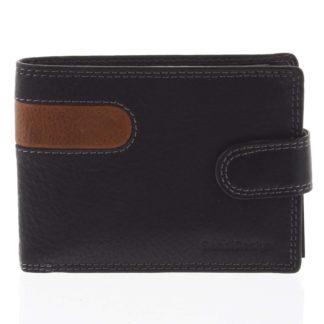 Nejprodávanější pánská kožená peněženka černá - SendiDesign Tarsus černá