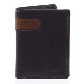 Pánská kožená peněženka černá - SendiDesign Parah černá