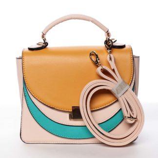 Originální malá dámská kabelka růžová - Dudlin Sandra  růžová