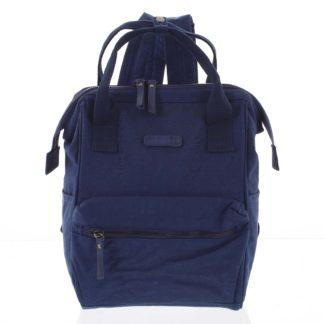 Stylový dámský batůžek modrý - Enrico Benetti Gatam   modrá