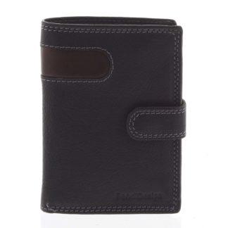 Pánská kožená peněženka černá - SendiDesign Elam černá