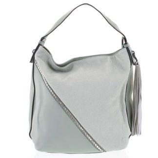 Originální zelená dámská kabelka přes rameno - Maria C Megumi zelená